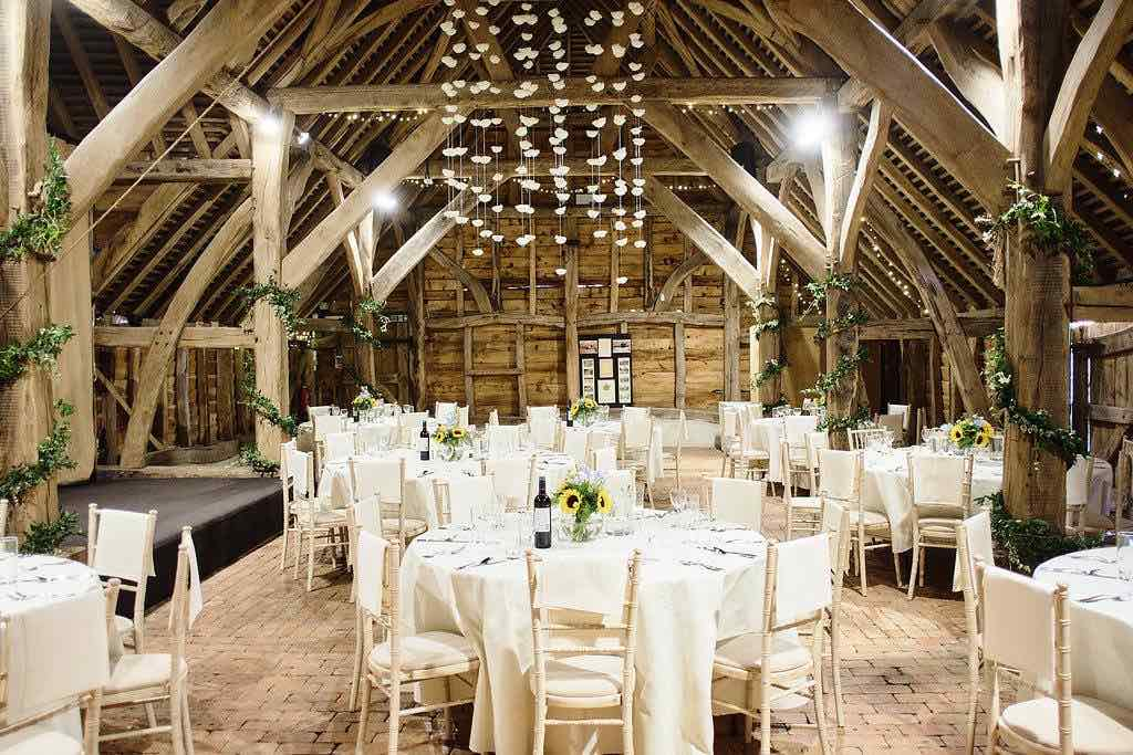 Gilding Barn wedding venue, Surrey