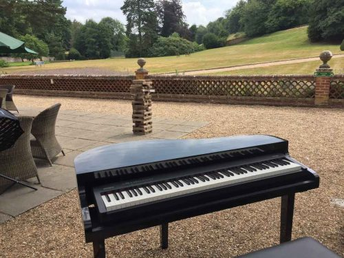 portable-baby-grand-piano-outdoor-wedding-drinks-reception-wotton-house-2