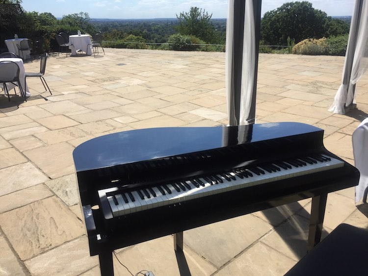 Portable-Electric-Baby-Grand-Piano-Wedding-Reception-Pembroke-Lodge